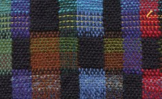 Double-weave color sampler - reverse