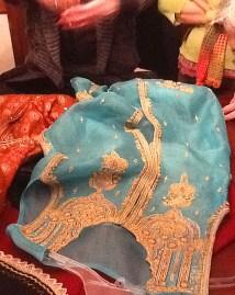 Pakistani silk tunic