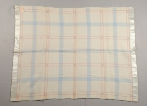 Churchill Weavers baby blanket, ca. 1955