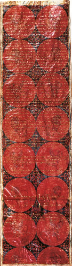 Marriage Charter Otto II and Theophano 14 April 972