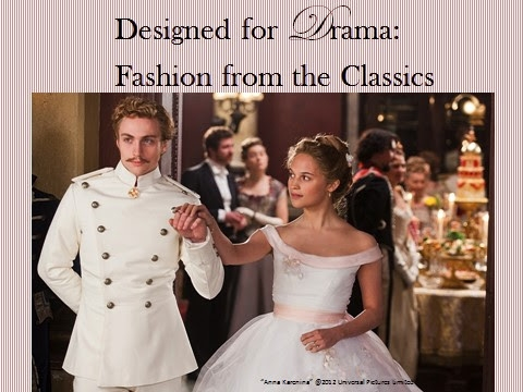 Designed For Drama Fashion From The Classics