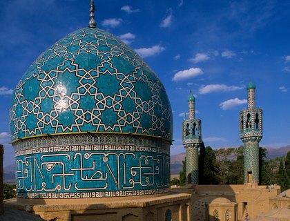 Iran Mahan tomb of Sufi dervish Nematollah Vali