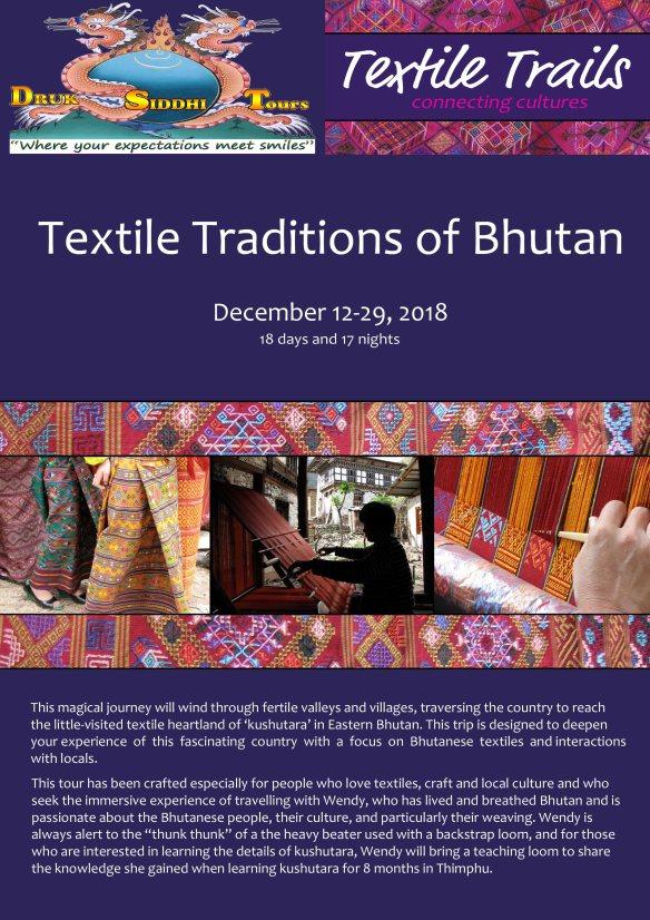 Textile Tour Bhutan