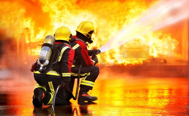 Heat and flame resistant textiles