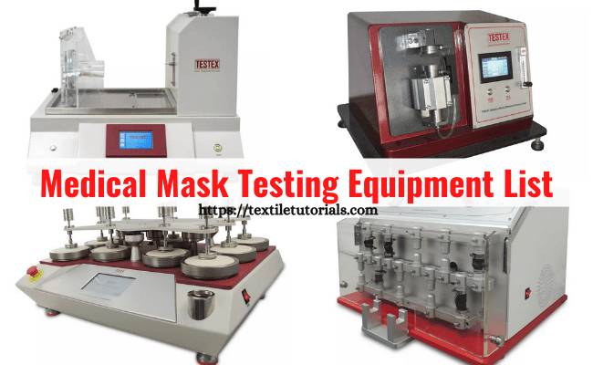 Medical mask testing machine list