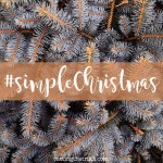 What if We Had a Simple Christmas?