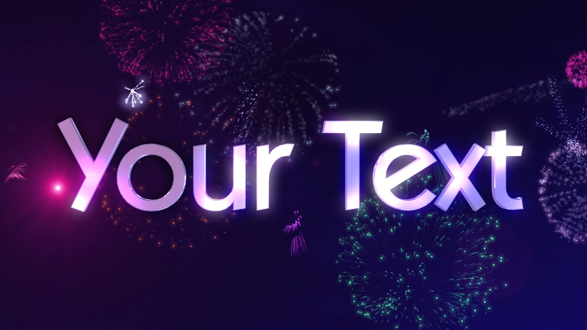 Fireworks 3D Text   Personalised animations to suit every occasion     Fireworks 3D Text   Personalised animations to suit every occasion   Stunning designs customised with your own text    Text in Motion
