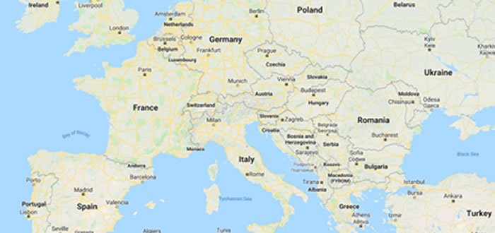 Capitals Of Europe Textlists