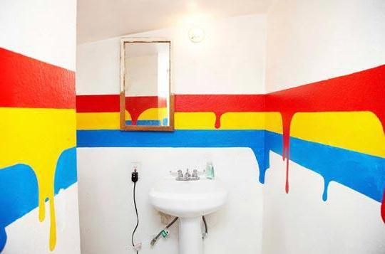Покраска стен в ванной: интересные идеи, дизайн и рекомендации