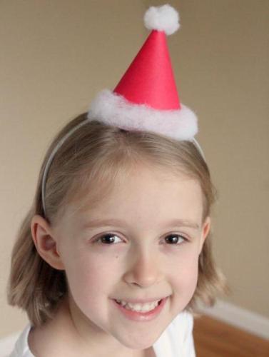 Шапки Деда Мороза своими руками: выкройка и схема