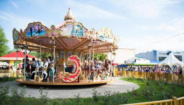 Парк «Тополя» в Оренбурге: описание, аттракционы, режим работы