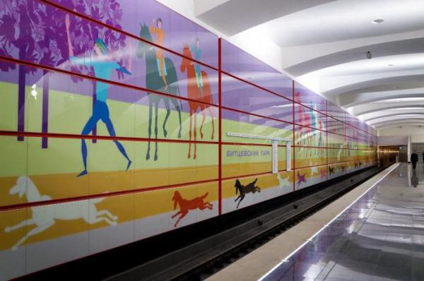 Станция метро «Битцевский парк»: строительство, интересные факты