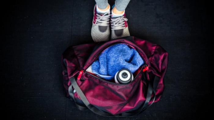 Что должно лежать в сумке каждого спортсмена?