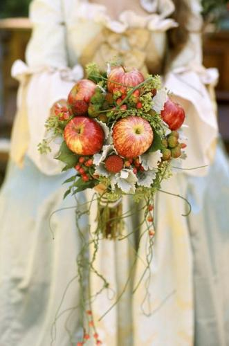Как сделать букет из яблок своими руками. Фруктовый букет