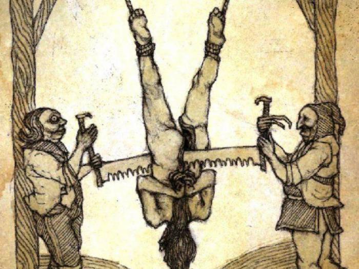 9 самых жутких пыток древнего мира