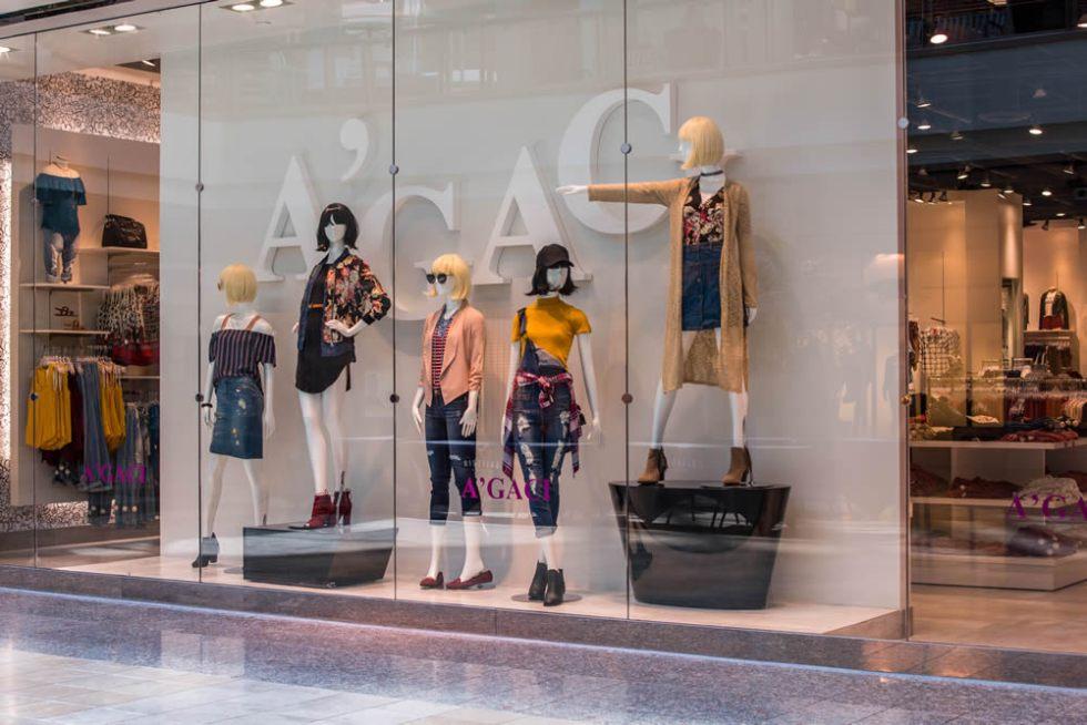 реклама магазина одежды