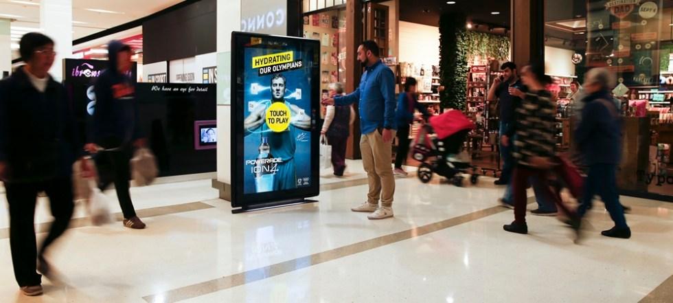 Интерактивная реклама оффлайн