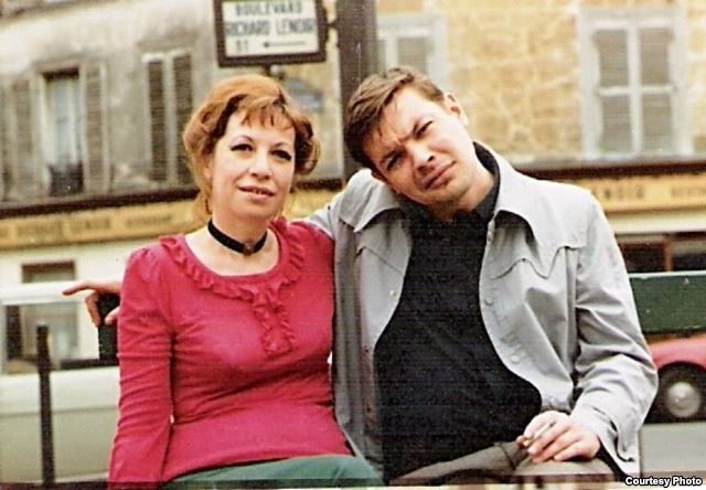 Вадим Делоне с женой Ириной Белогородской