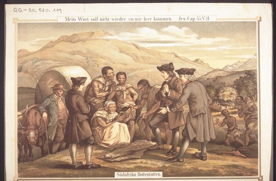 миссионеры и готтентоты