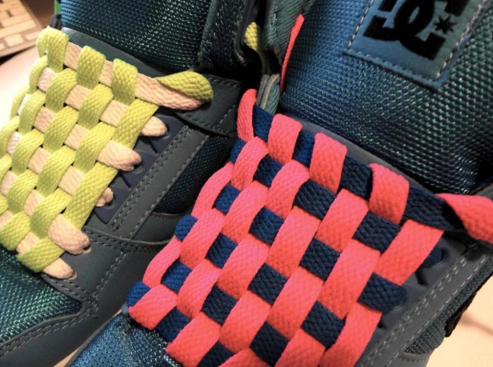 Как можно красиво завязывать шнурки