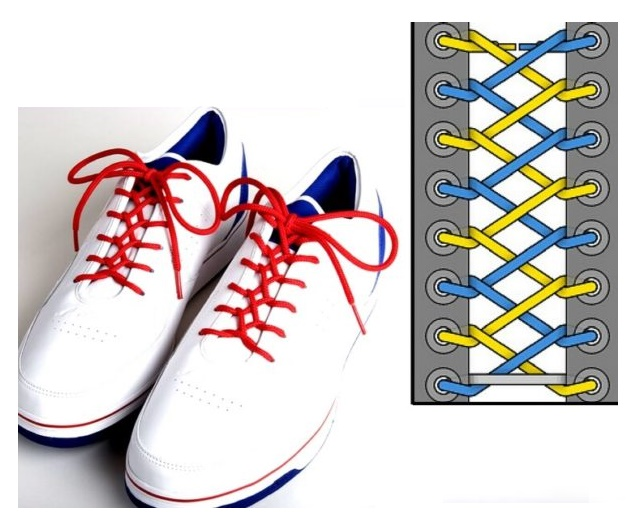 Как красиво завязывать бантик на шнурках