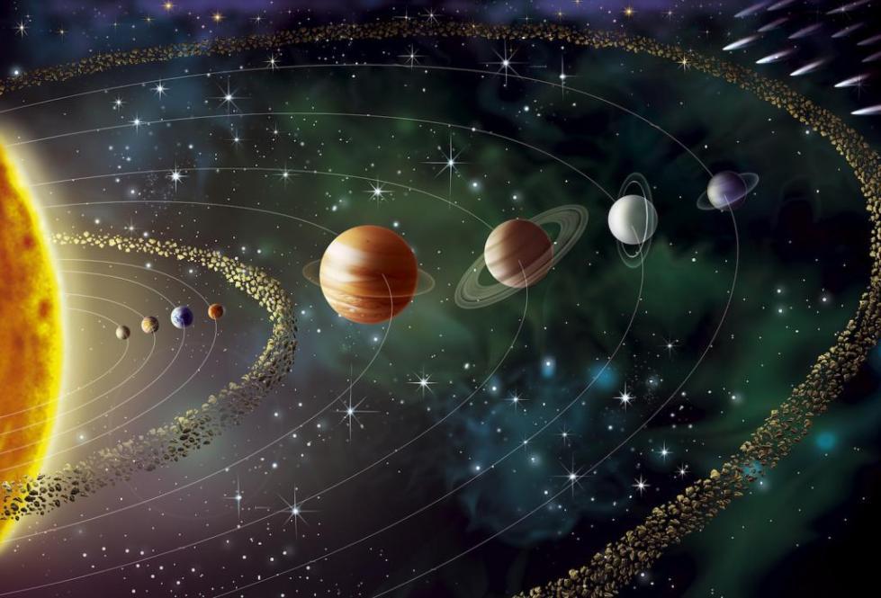Парад планет.