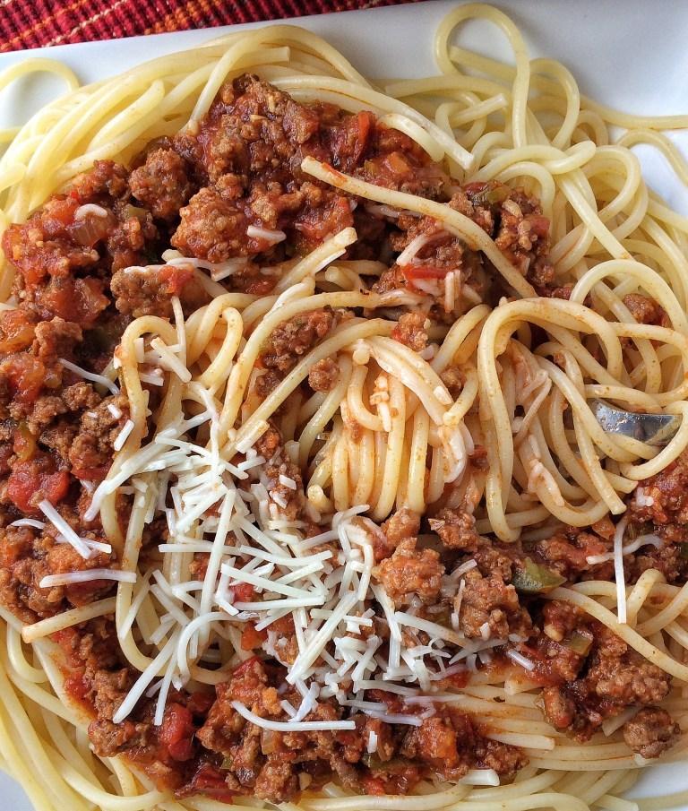 спагетти по флотски рецепт с фаршем пошаговый рецепт с фото на сковороде