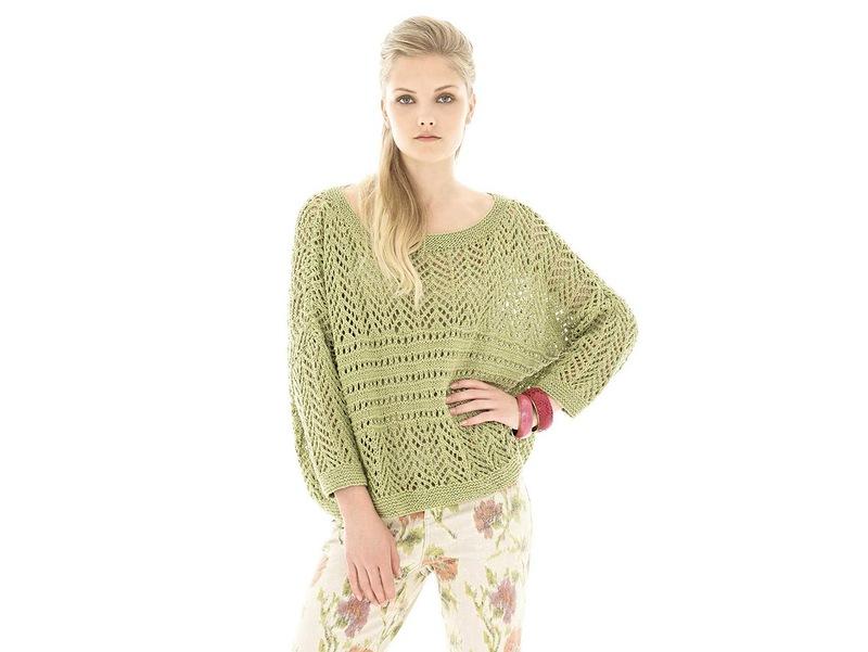 модный пуловер оверсайз