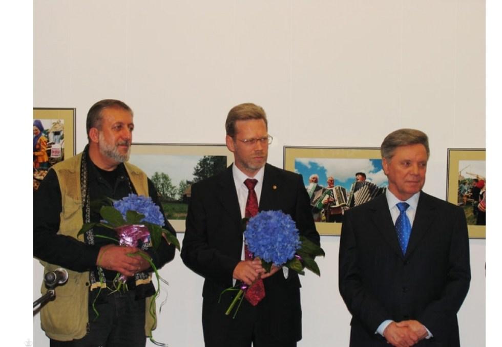 Федоров на выставке