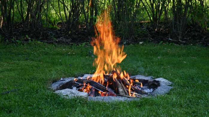 Правила сжигания травы