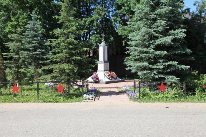 мемориал в сабурово