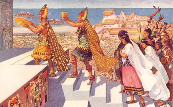 Древняя индейская цивилизация