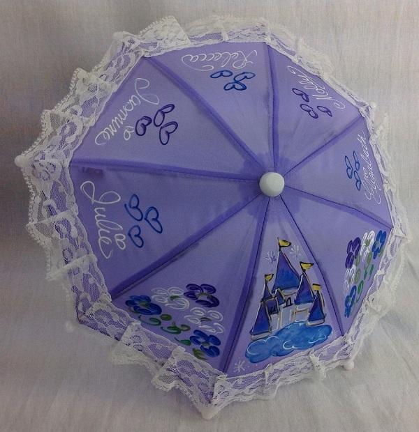 нарядный зонтик