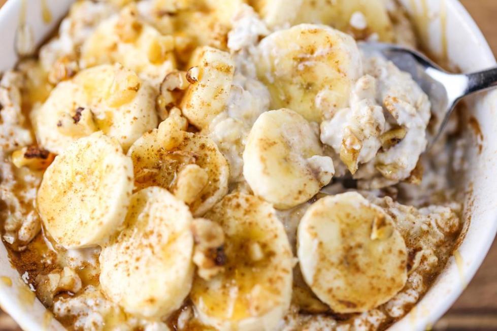 овсяноблин без яиц с бананом рецепт