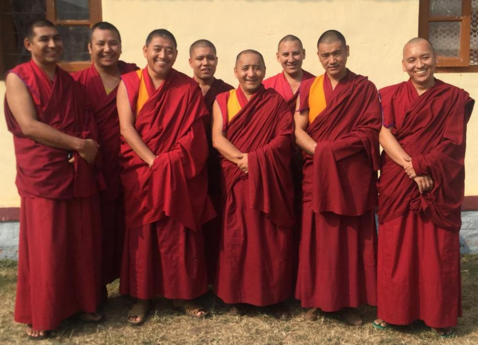 Жизнь в тибетском монастыре