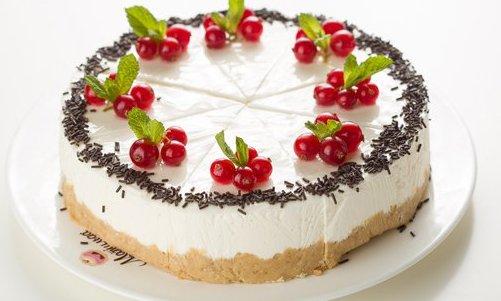 Свежий десерт.