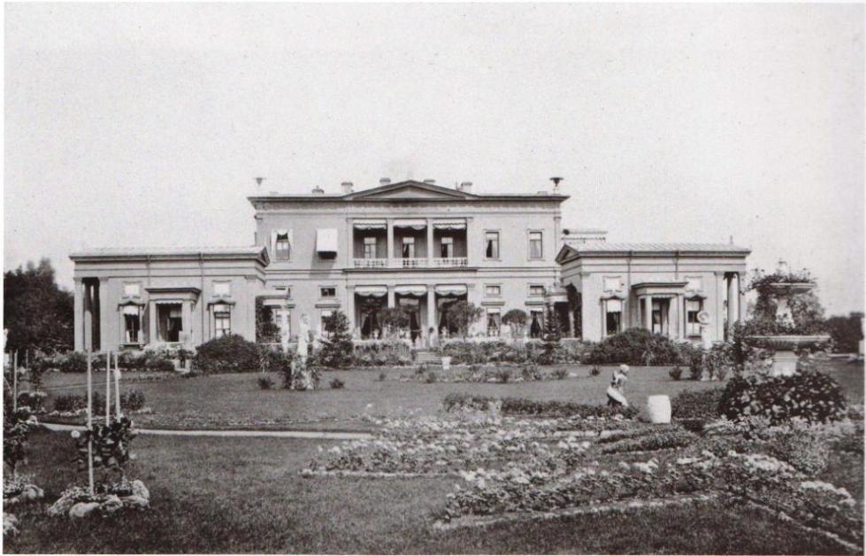 Южный фасад здания