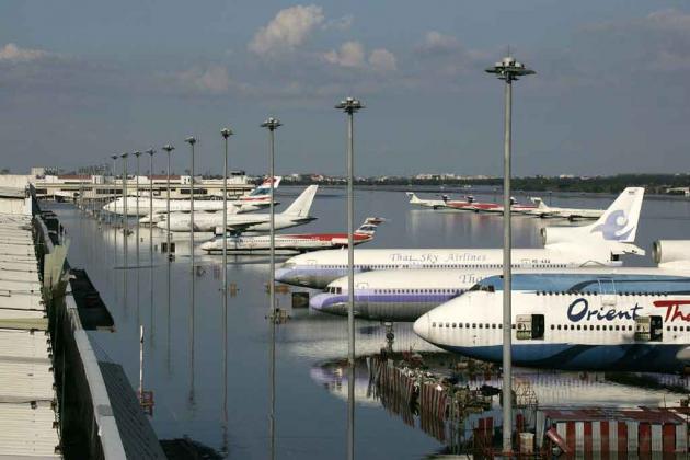 Летное поле в аэропорту Дон Муанг