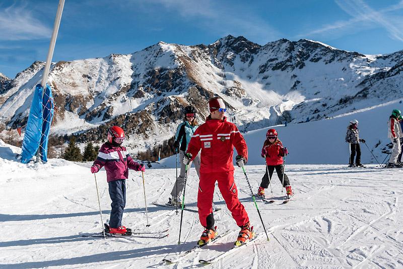 Лыжная трасса для начинающих