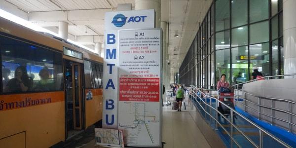 Автобусные станции в аэропорту Дон Муанг