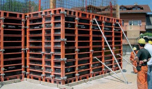 Конструкция стальной опалубки