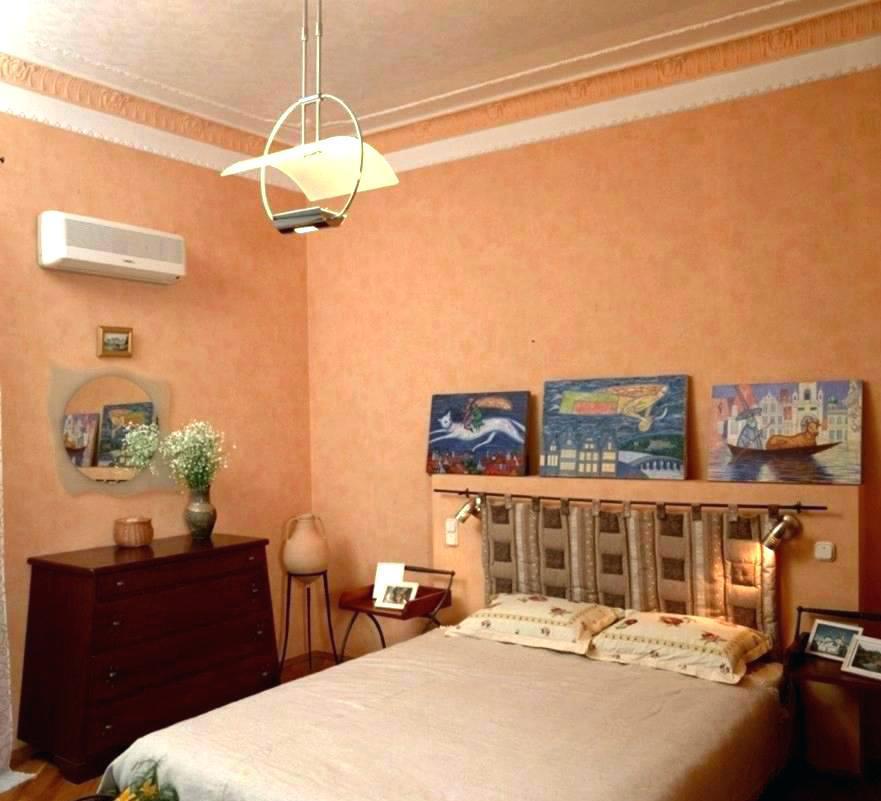 Спальня в персиковом цвете