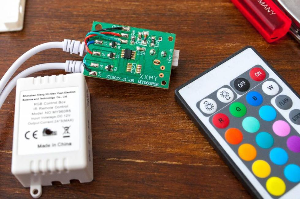 rgb контроллер для светодиодной ленты