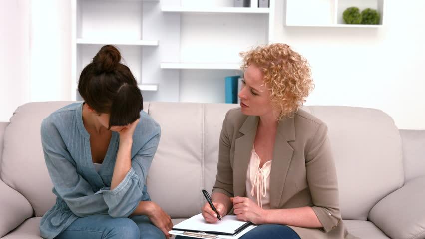Психолог и клиентка