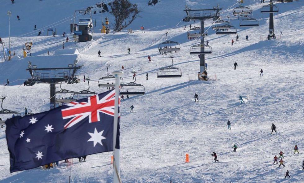 Катание на лыжах в Австралии
