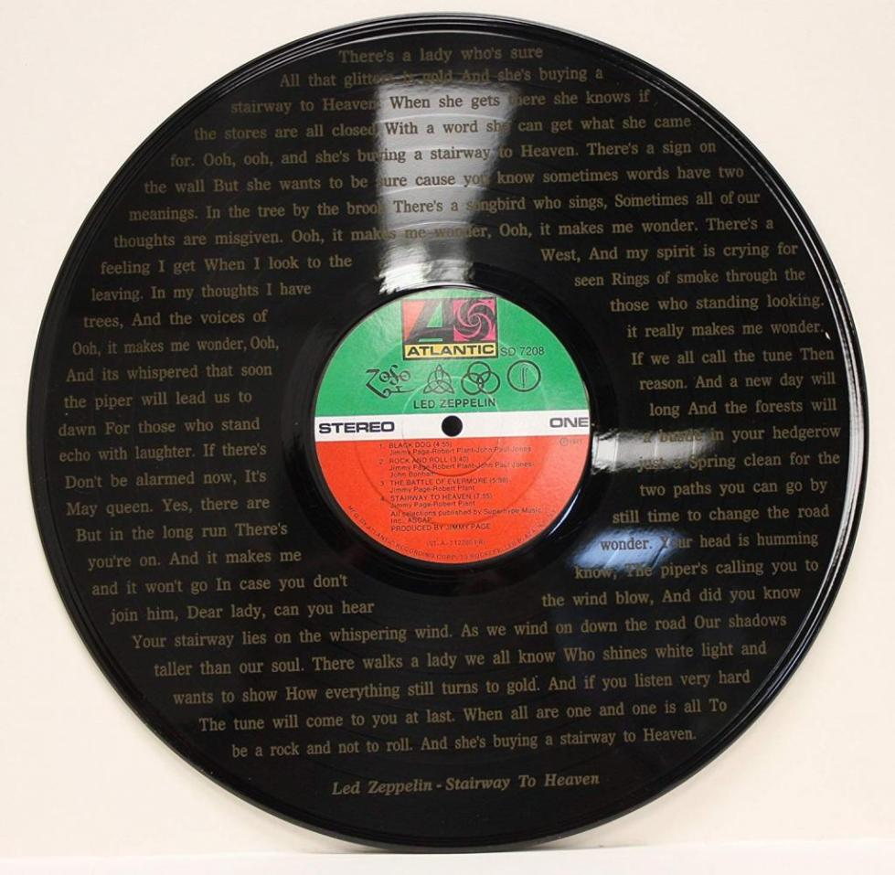 Пластинка Led Zeppelin