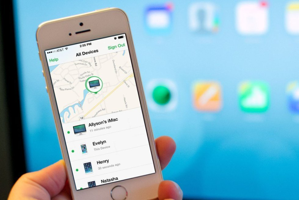 Найти айфон с телефона андроид