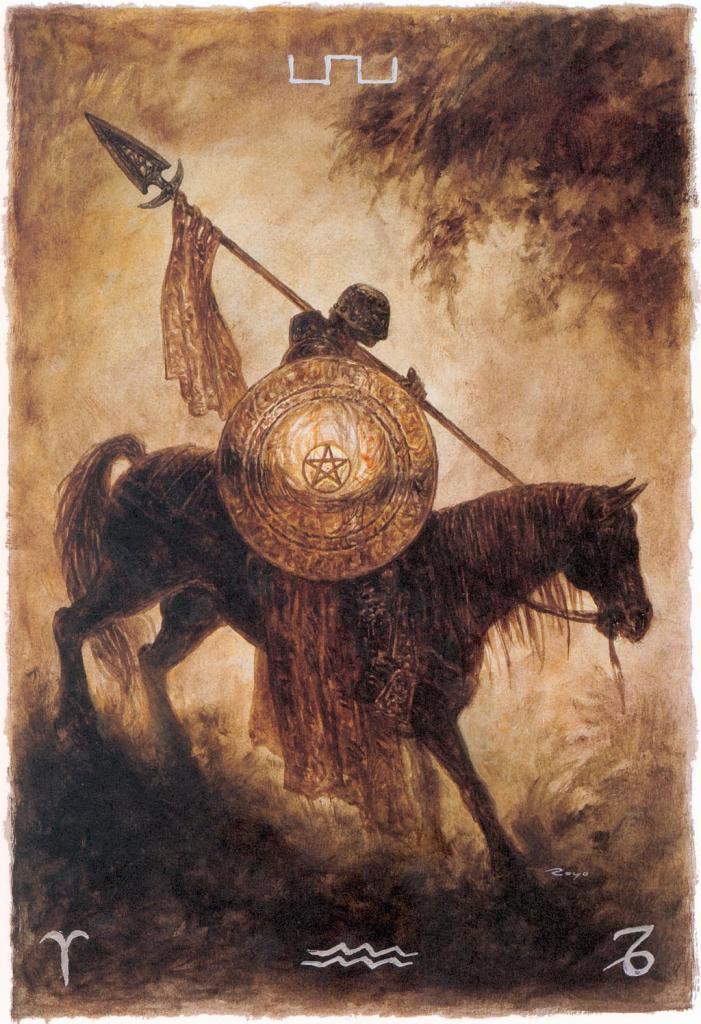 рыцарь монет таро значение в отношениях