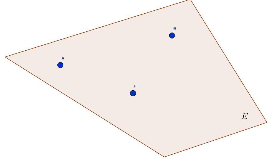 Три точки и плоскость