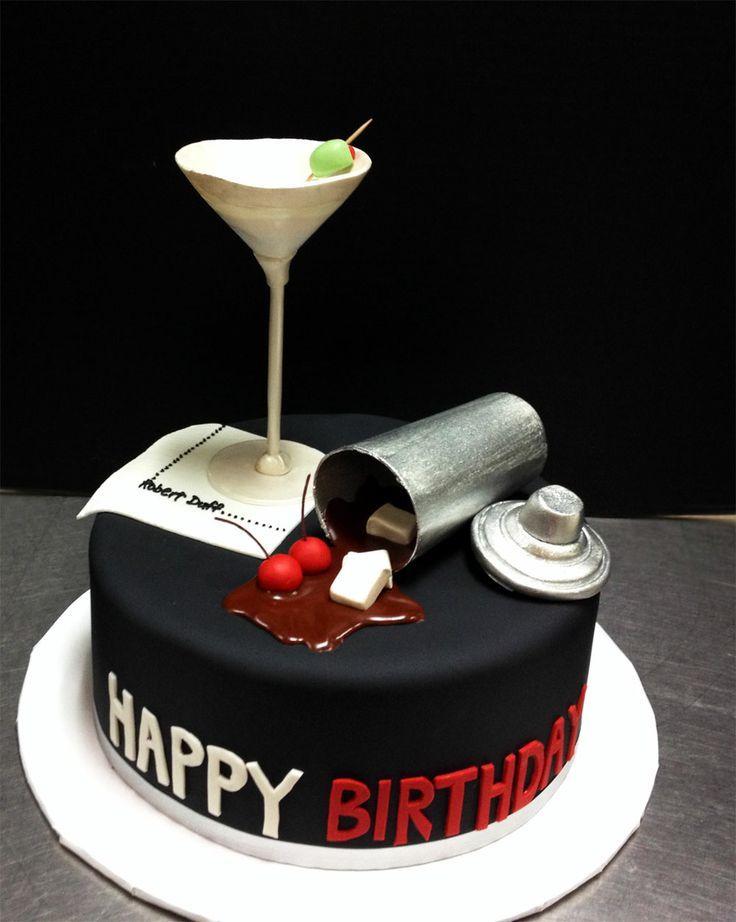Торт с коктейлем